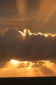 Sonnenuntergang in Bovbjerg